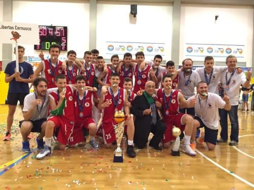 Libertas Cernusco U15M Campione d'Italia