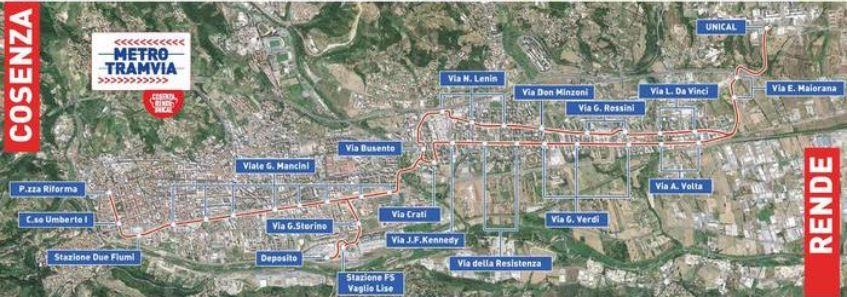 Metro di superficie Cosenza Rende