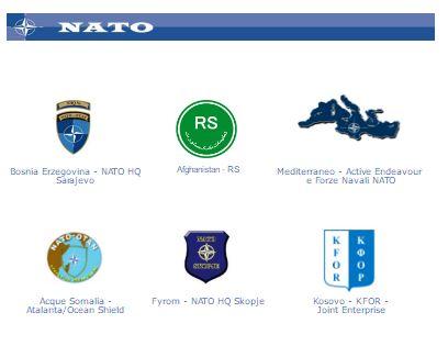 Missioni militari Italiani Nato