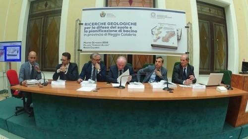 Ricerche geologiche per la difesa del suolo e la pianificazione di bacino in provincia di Reggio Calabria