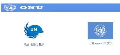 missioni militari italiani ONU