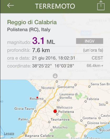 terremoto Polistena