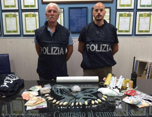 Polizia Palermo droga