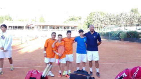 under 14 tennis