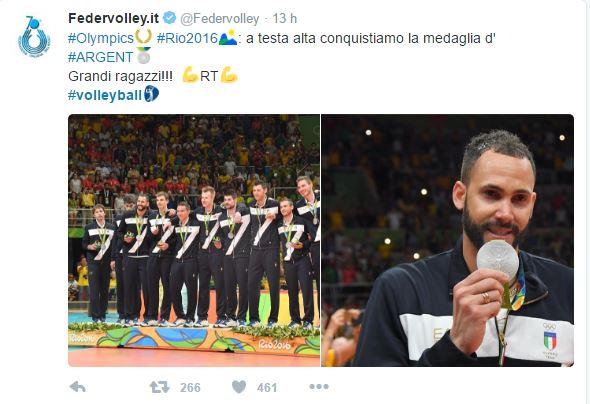 Argento Volley Rio 2016