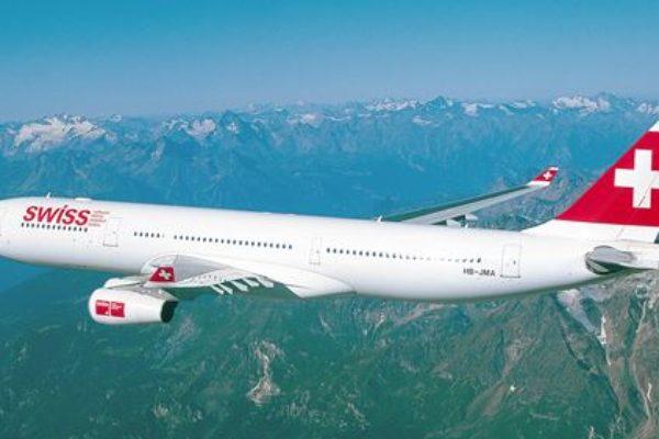 Non le servono altro champagne, volo Swiss costretto ad atterraggio d'emergenza