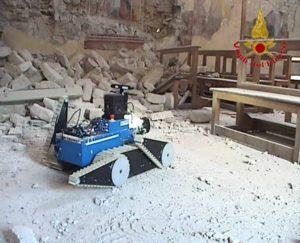 Vdf robot Amatrice