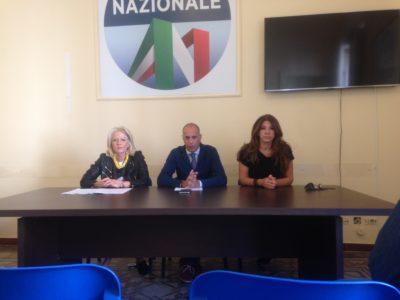 azione-nazionale-porto-messina-conferenza-stampa