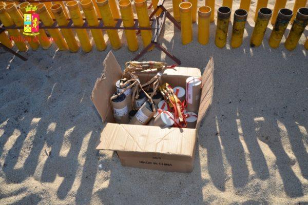 Polizia: San Ferdinando, sequestrati circa 120 Kg di fuochi pirotecnici in occasione dei festeggiamenti in onore di Santa Barbara
