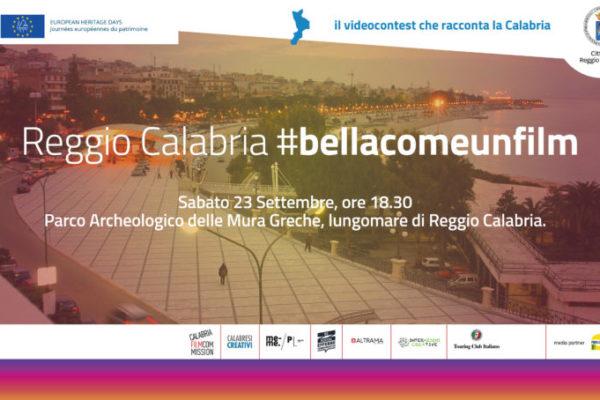 #bellacomeunfilm, il roadshow approda a Reggio Calabria il 23 settembre
