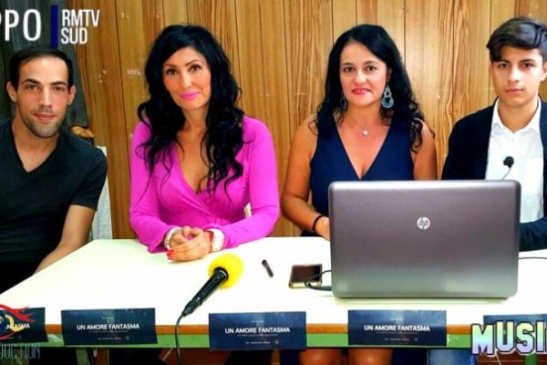 Reggio Calabria, ieri presentazione ufficiale della web series: Un Amore Fantasma