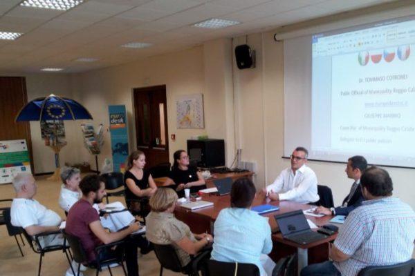 Parigi, Praga, Breslavia e Reggio Calabria. Importante confronto su futuri progetti europei