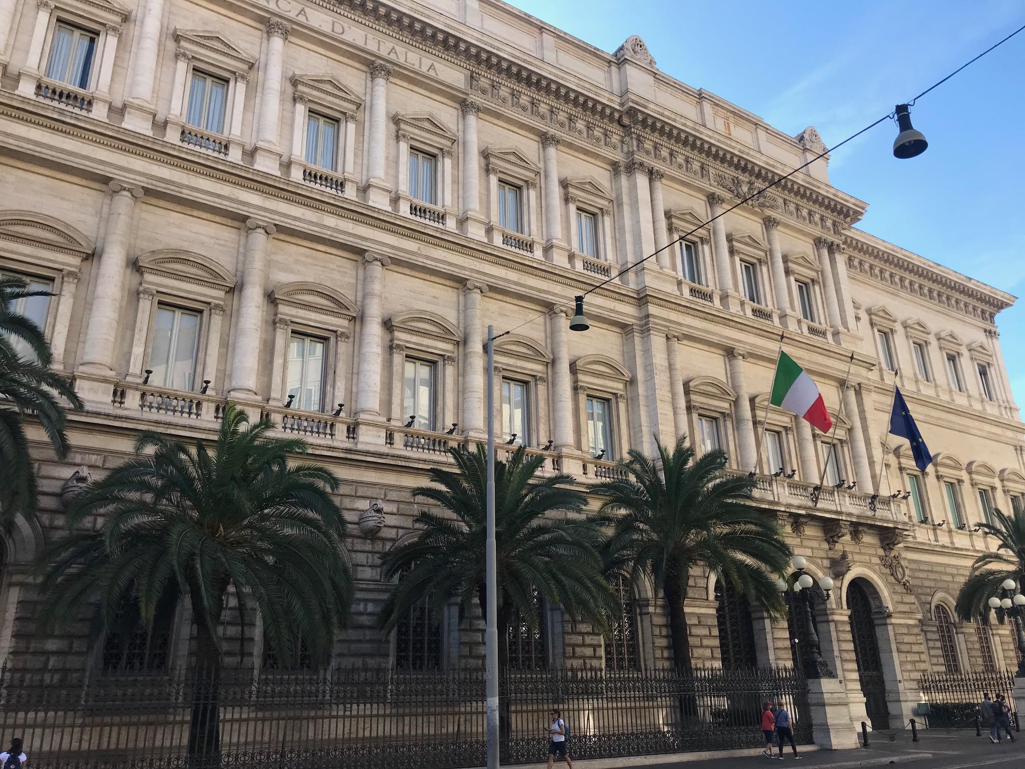 Bankitalia: spread sopra livelli di pericolo per alcune banche
