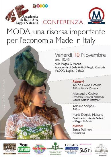 Moda una risorsa importante per l 39 economia made in italy for Accademia belle arti moda