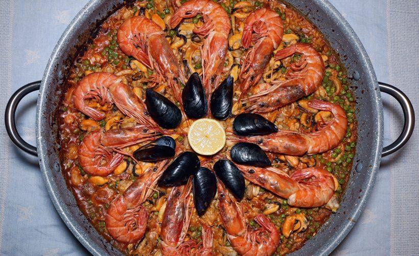 Paella Ai Frutti Di Mare Ricetta Originale Ilmetropolitanoit