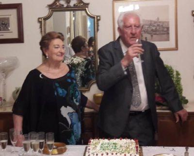 65 Anniversario Di Matrimonio.L Amore Infinito Della Coppia Messinese Nel Loro 65 Anniversario