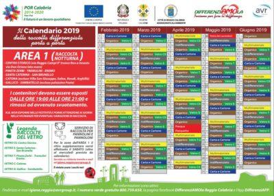 Calendario Concerti Calabria.Reggio Calabria Nuovi Calendari Di Raccolta Differenziata