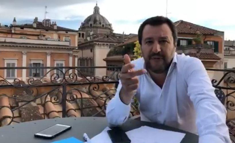 Governo, Matteo Salvini svela il piano dell'Ue per Giuseppe Conte