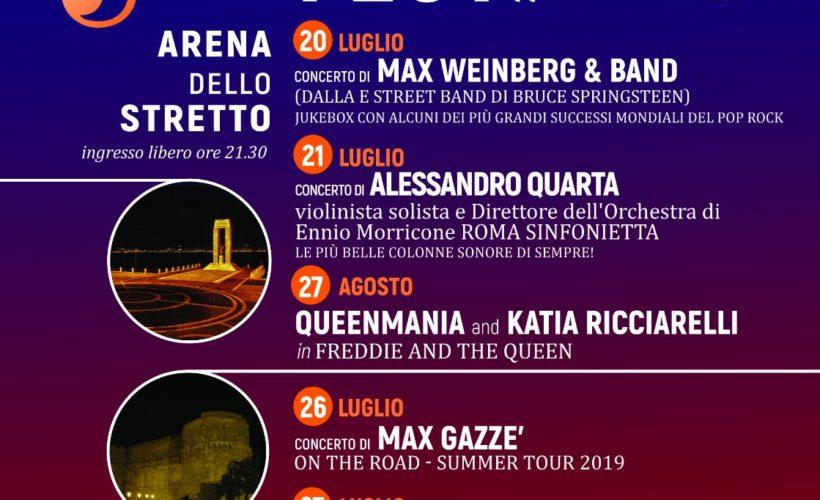Calendario Concerti Calabria.Reggio Calabria Estate Reggina 2019 Mai Cosi Free Sca