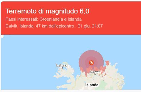 Terremoto, scossa di magnitudo 3.5 a largo di San Nicola Arcella