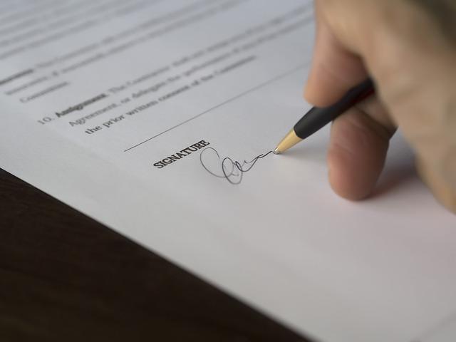 scrivere firmare generico