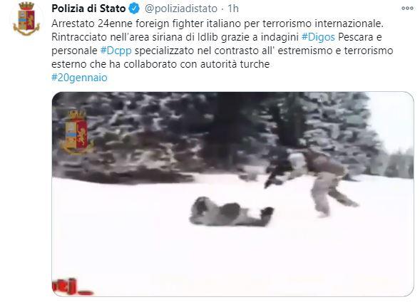 Arrestato un foreign fighter italiano: si era arruolato con al Qaeda