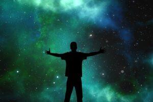 Universo stelle spazio