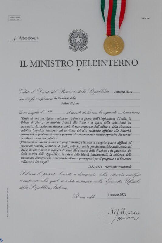 169 Anniversario Della Fondazione Della Polizia Di Stato Ilmetropolitano It